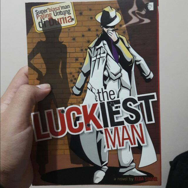 Buku novel The Luckiest Man