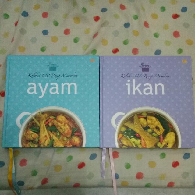 Buku Resep Masakan Buku Alat Tulis Buku Di Carousell