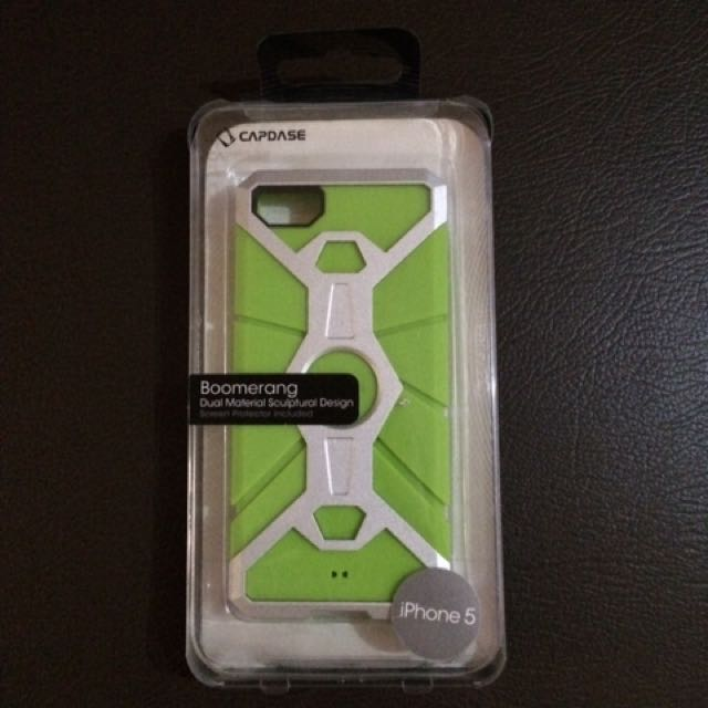 Capdase Boomerang  rugged Case Iphone 5 original