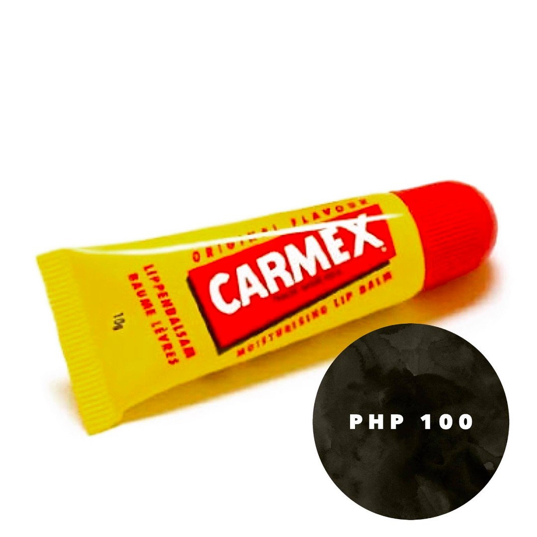 CARMEX SINGLES FOR ONLY PHP100