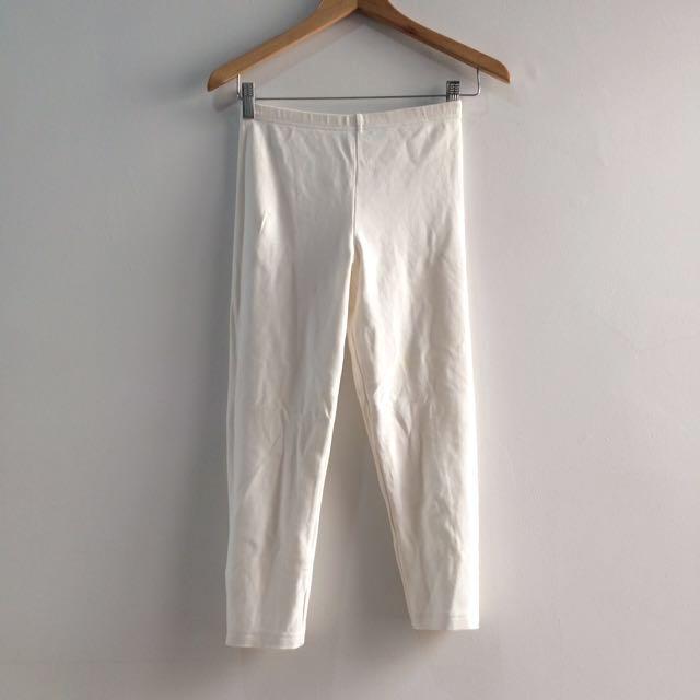 Celana Ketat Putih Branded Size 8