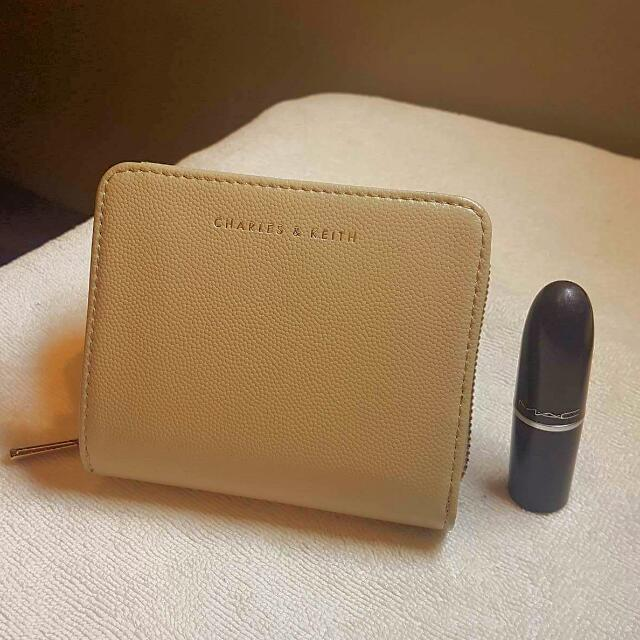 Charles And Keith Two-fold Wallet