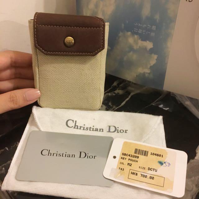 Christian Dior Key Pouch