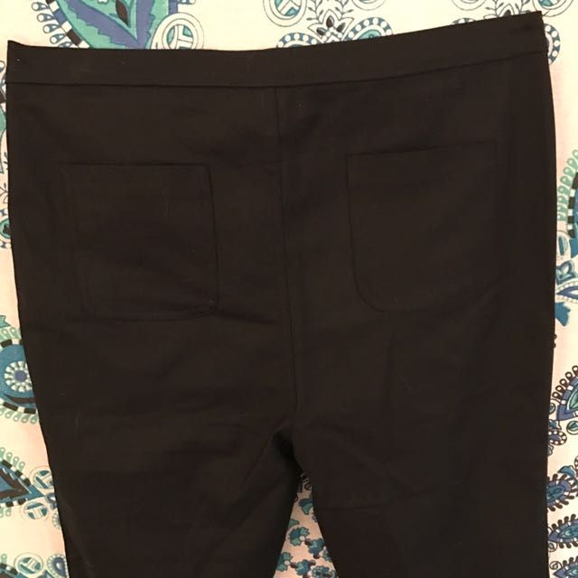 Crop Fitted Pant