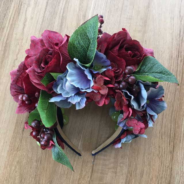 Custom-made Flower Headdress / Headband
