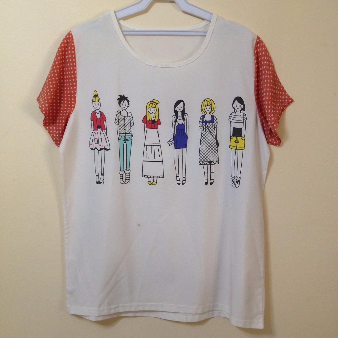 Cute tshirt / blouse