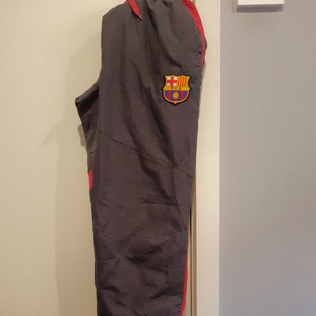 Dark Grey/Maroon BARCELONA waterproof Pants
