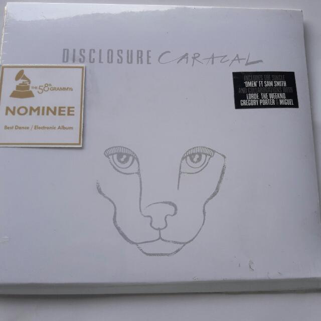 Disclosure Caracal CD ALBUM
