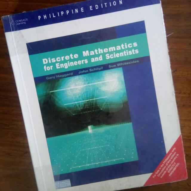 Discrete Mathematics For Engineers and Scientists