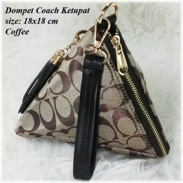 Dompet Coach Ketupat