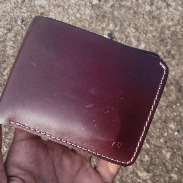 dompet kulit asli merk lthrkrft warna burgundy murah bandung ce47d7e9ac