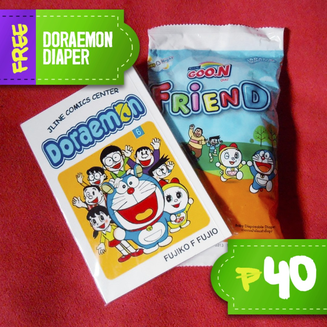 Doraemon Comics Vol  6 (Tagalog translated) on Carousell