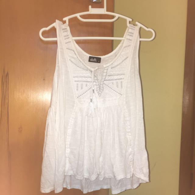 Dotti White Top