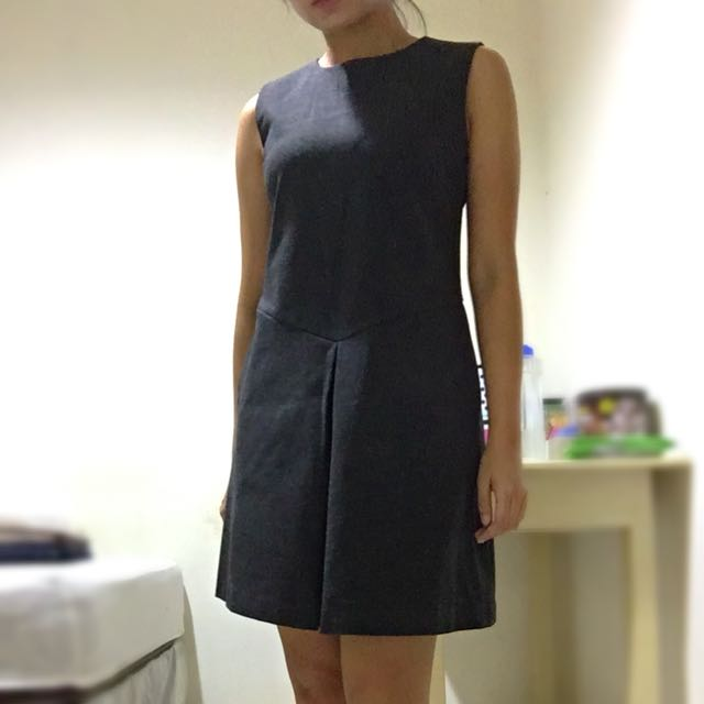 Dress Uniqlo Grey Like Sailor