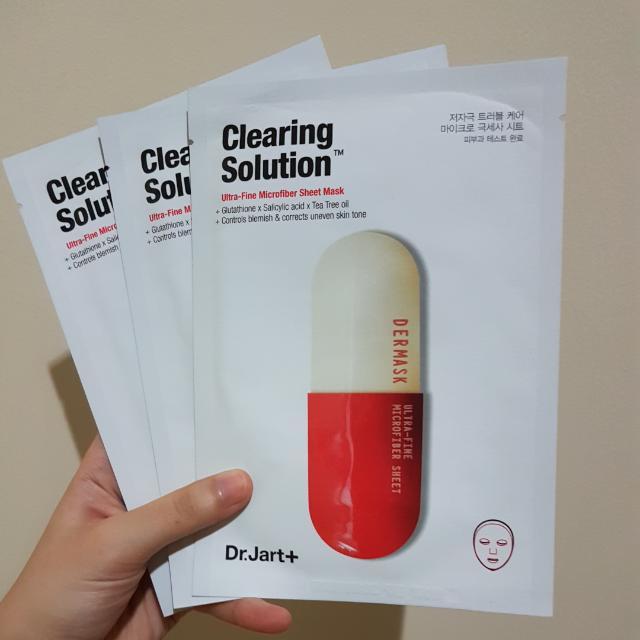 Dr.Jart+ Clearing Solution Face Mask