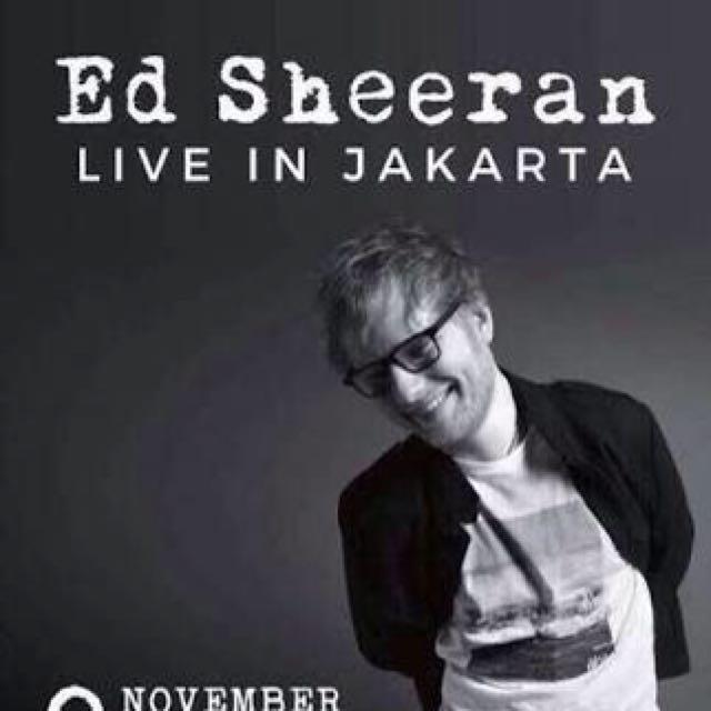 ED SHEERAN LIVE IN JAKARTA 2017