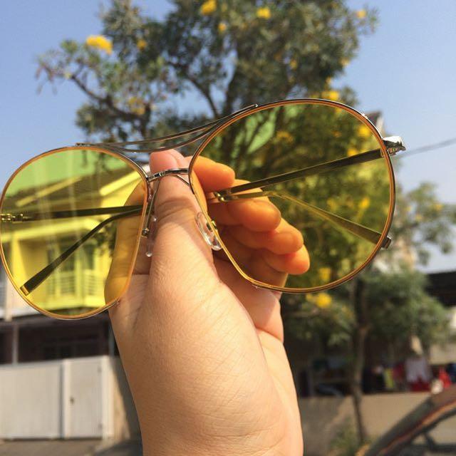 Epic Yellowish Sunglasses