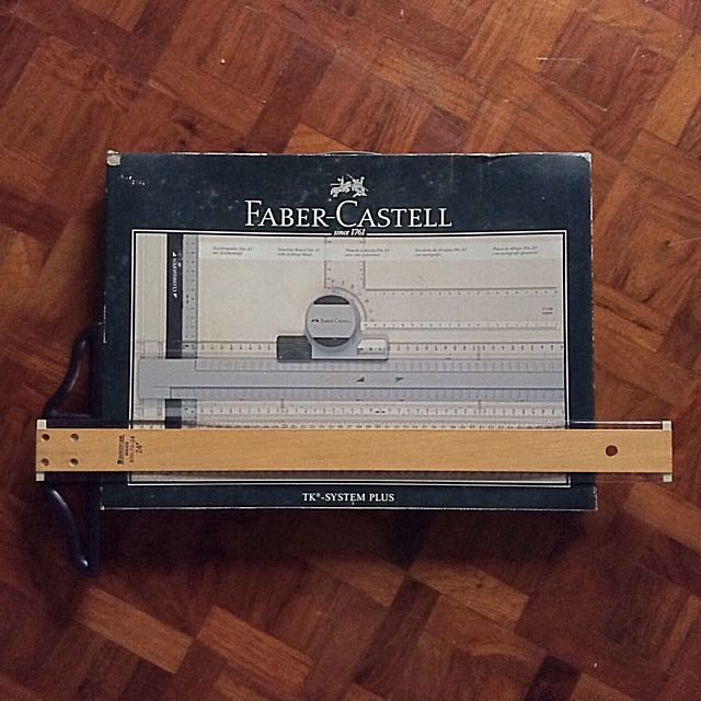 Faber Castell TK System plus A3 Drawing Board with Drafting Head