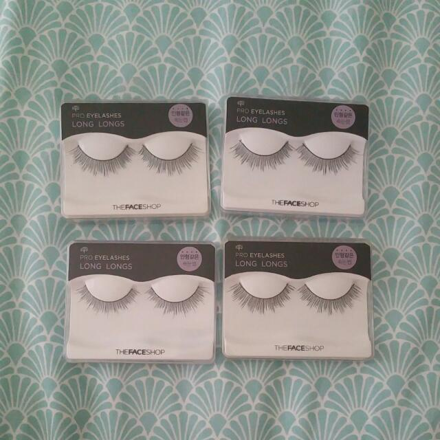 False Eyelashes x4