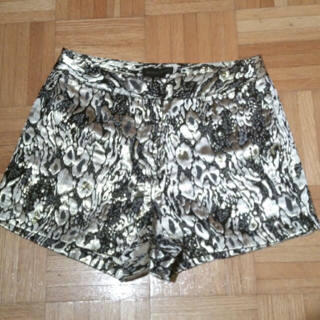 Fancy Embroidered Shorts