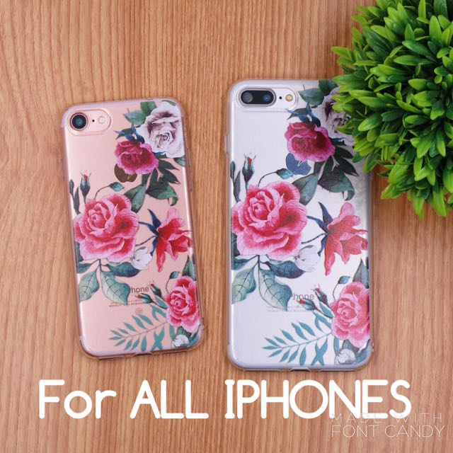 Floral Jelly Case!