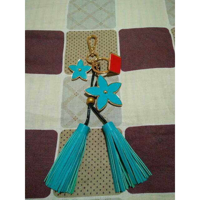 Flower bag key chain