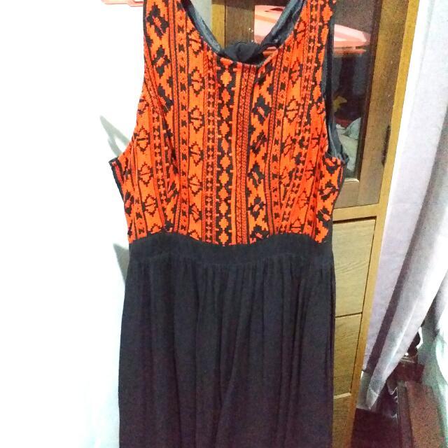 Forever 21 Boho Knee-length Dress