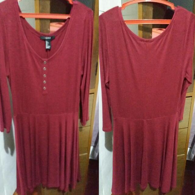 Forever 21 Little Red Dress