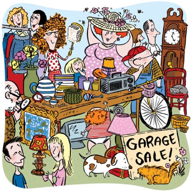 GARAGE SALE EVERYSUNDAY