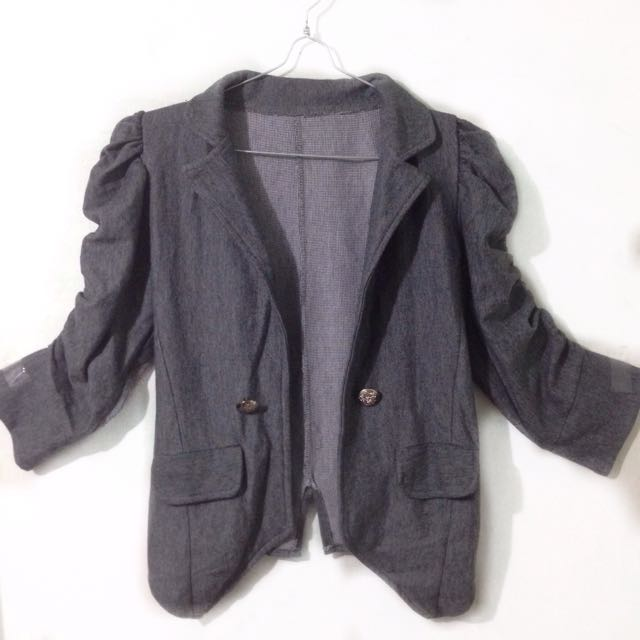 GREY WOMAN  BLAZER