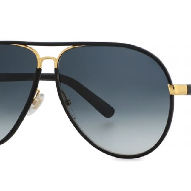 06834ae1f23 Gucci Aviator Sunglasses Navy Blue Men S Women Fashion