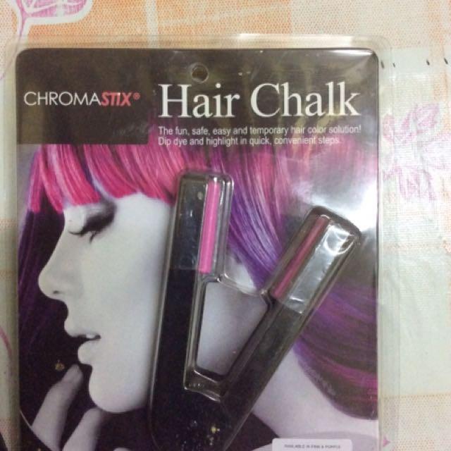 Hair Chalk Plus Hair Stapler