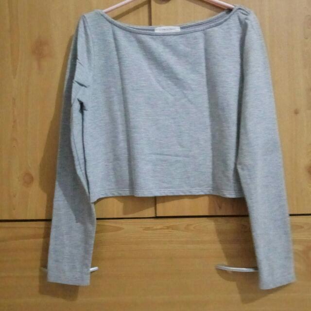 Half Body T-shirt Long Sleeves