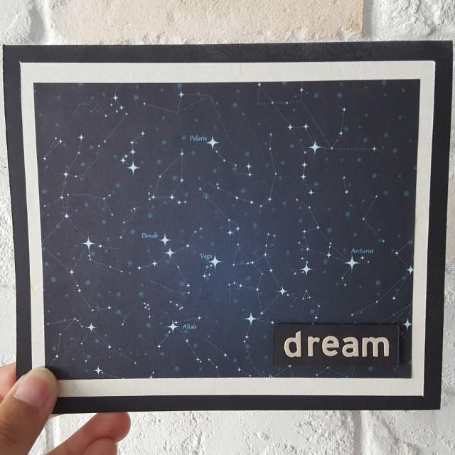 Handmade Dream Card