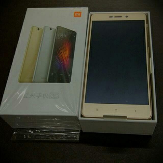 Handphone Xiomi Redmi 3s.