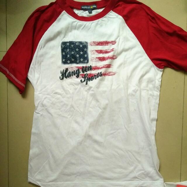 Hangten短袖T 14/15,拆牌沒穿    #我的旋轉衣櫃 #7月免購物直接送  #夏季衣物 #童裝 #短袖上衣  #男童。#雙十一女裝出清
