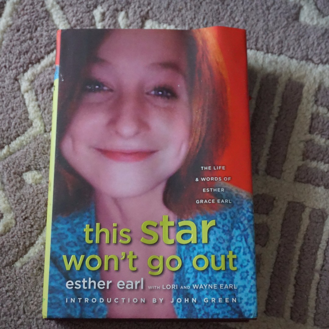 (Hard Cover) This Star Won't Go Out by Esther Earl