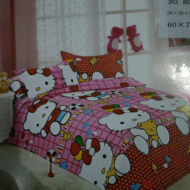Hello Kitty Bedsheet 3in1