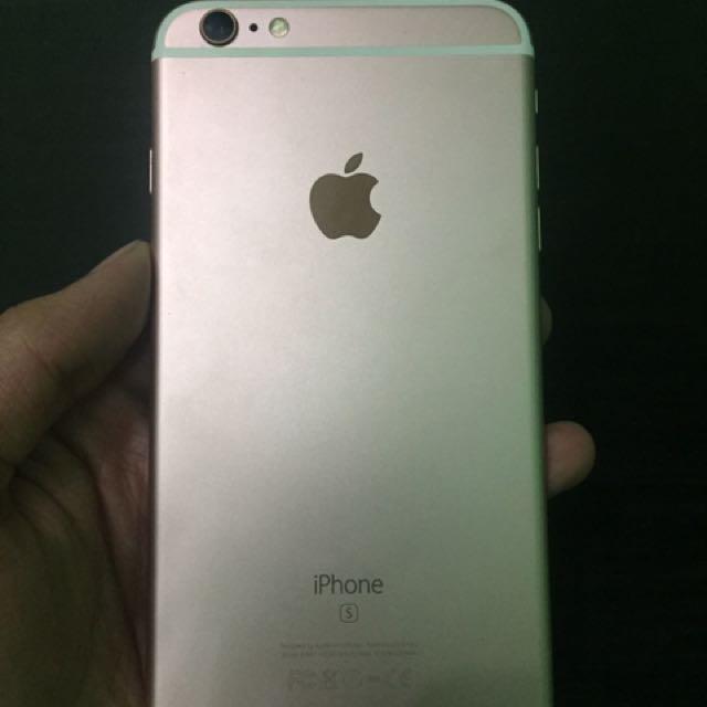 I Phone 6s Plus 32gb Rosegold F.U Original Not Gpp