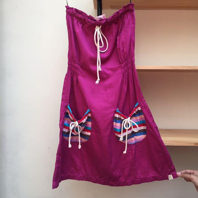 Insight Dress In Purple