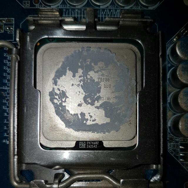 intel core 2 duo cpu 2.66 ghz