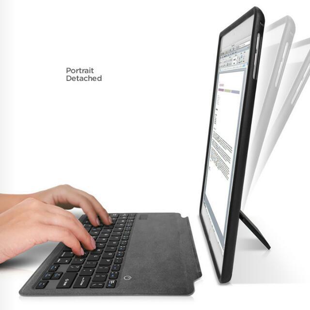 IPad AIR, AIR 2 Zerochroma foilioside case with keyboard