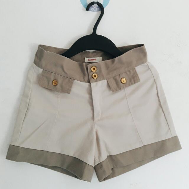 Jellybean High Waist Shorts