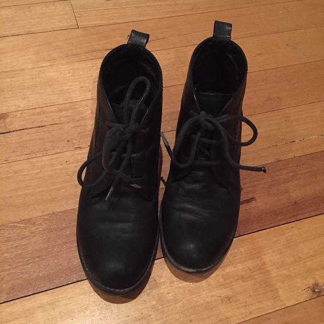 JO Mercer Lace Up Booties