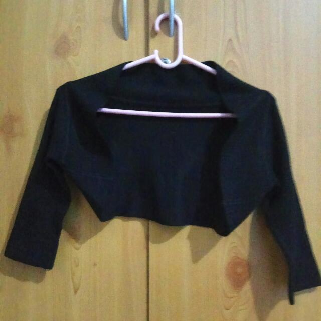 Knit Bolero 7/8 Sleeves