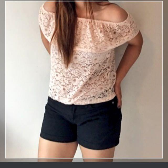 Lace Off Shoulder