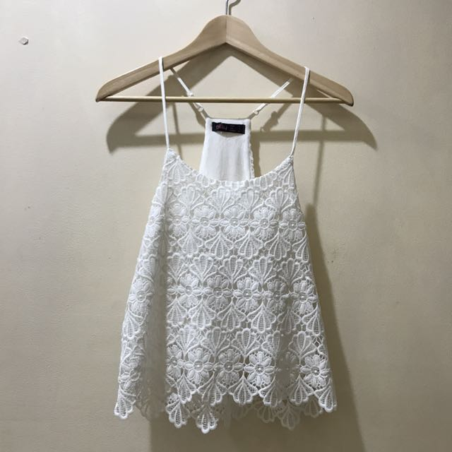 Lace Singlet Top