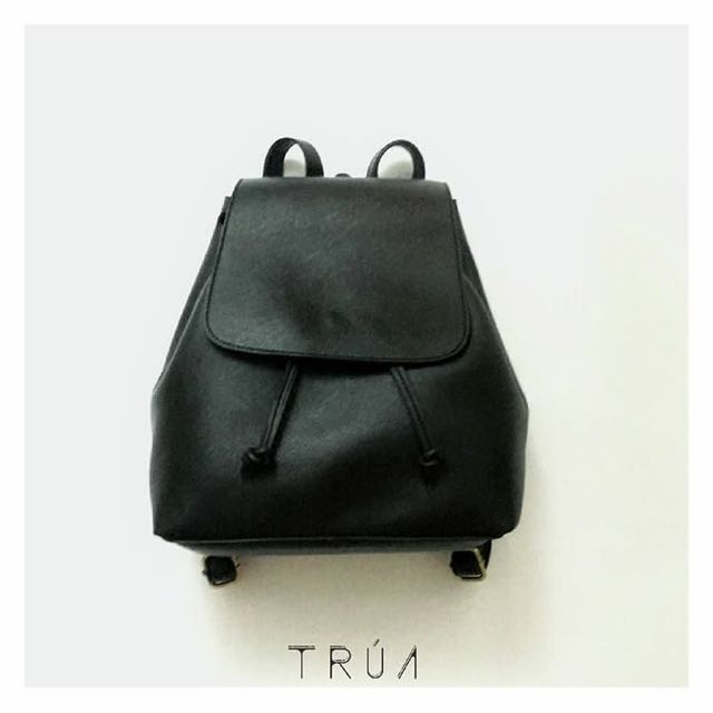 Leather Backpack Size M