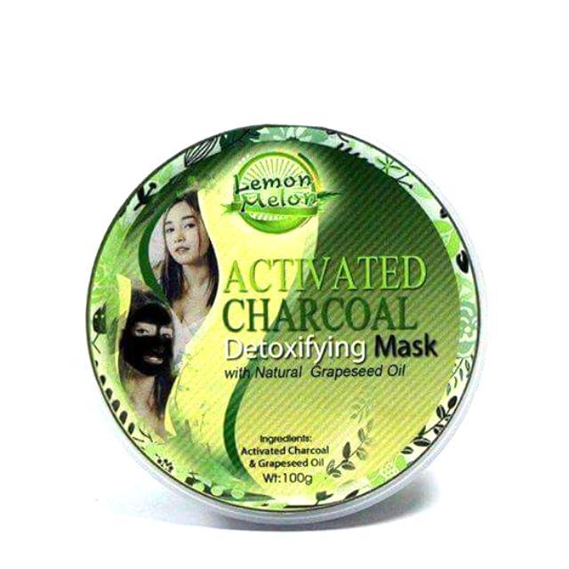 Lemon Melon Charcoal Mask