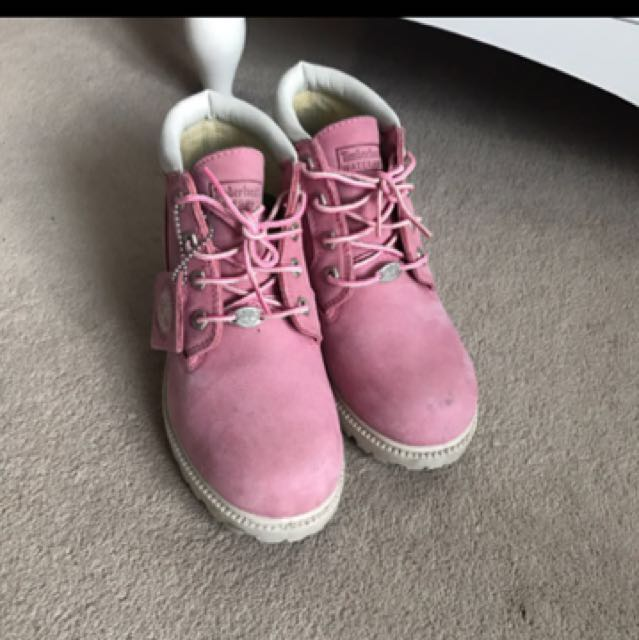 ❗️Limited Edition❗️Pink Timberlands